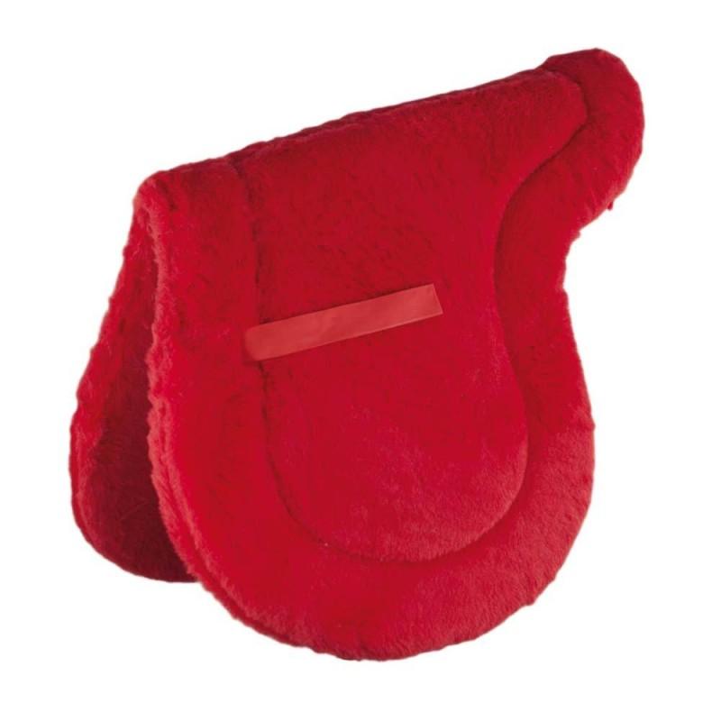 Tapis de selle en forme Umbria Rouge