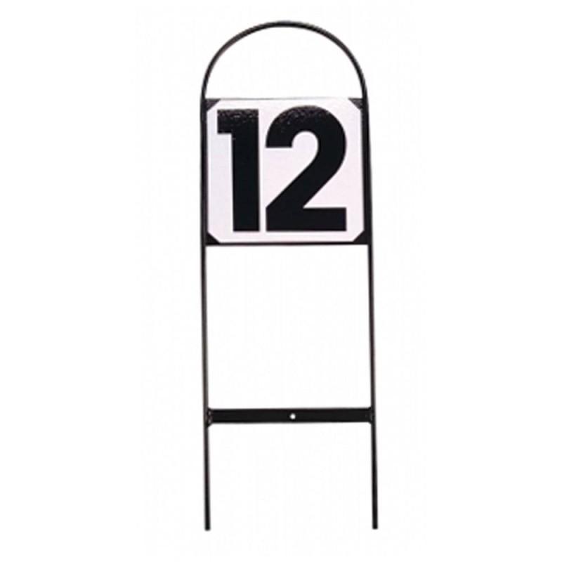 12 numéros d'obstacle CSO métal