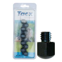 Crampons durs tête carrée Tacx 14 mm