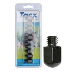 Crampons durs tête carrée Tacx 17 mm