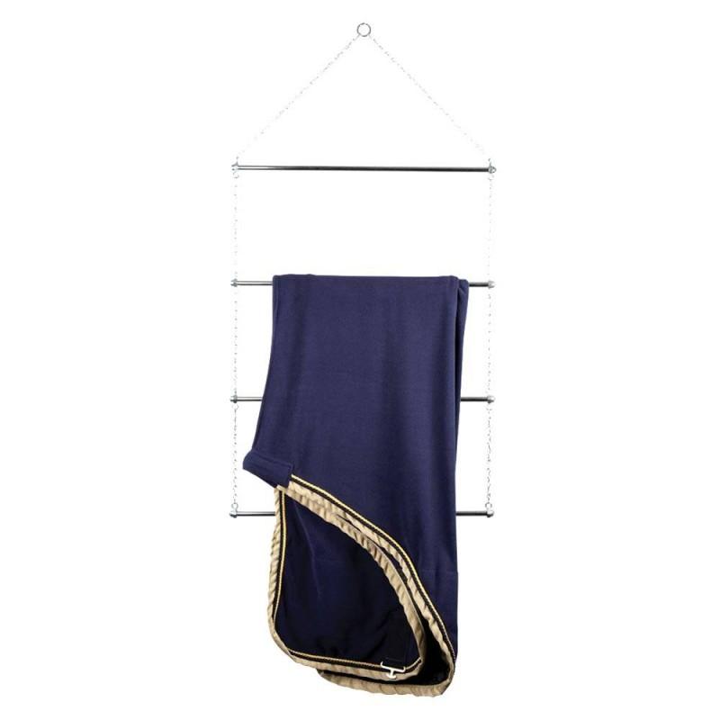 Porte couvertures en métal