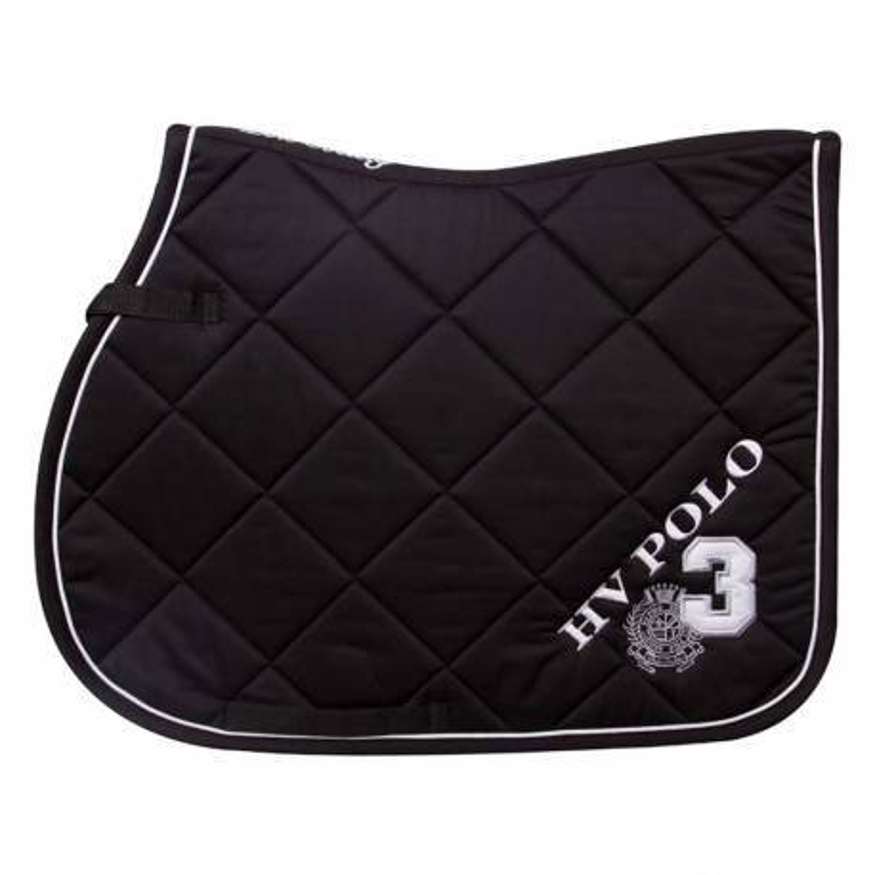 Tapis de selle HV Polo Favouritas Noir