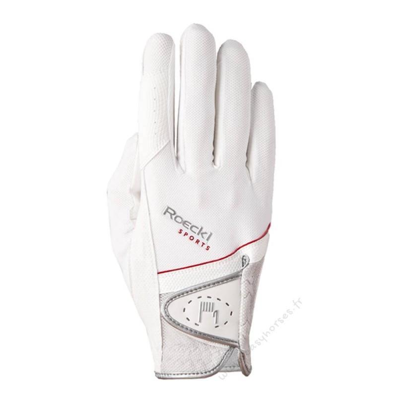 Gants Roeckl Madrid Blanc