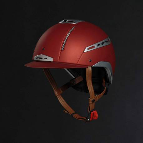 Casque Icona Jin Stirrup Rouge