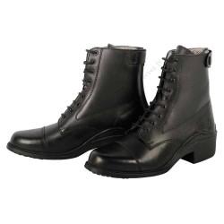 Boots Jodhpur Starter cuir noir