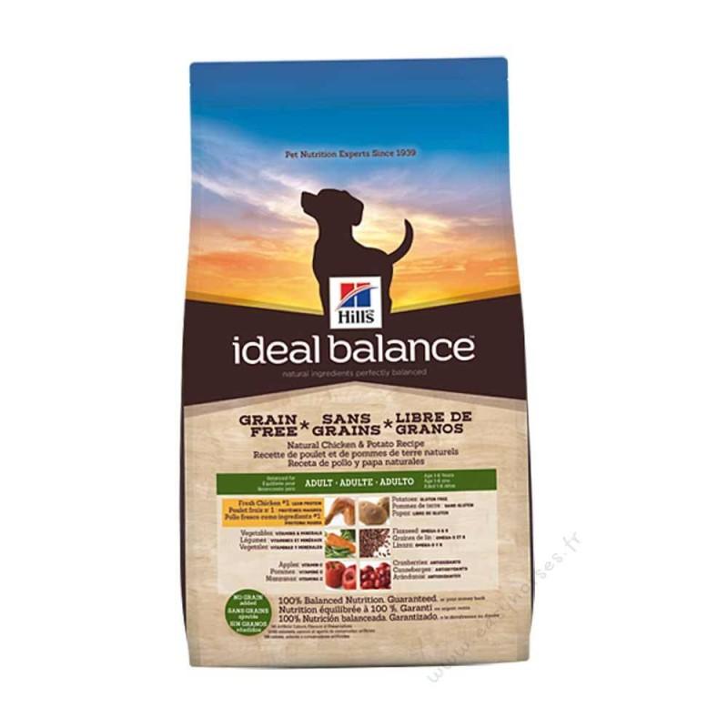 Hill's Ideal Balance Adult No Grain Poulet