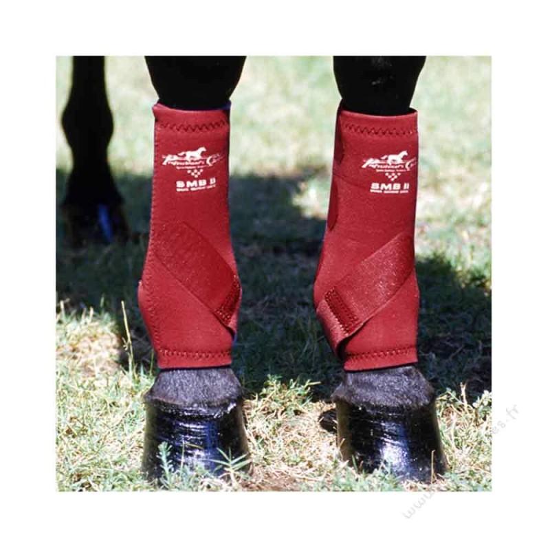 Guêtres Pro Choice SMBII rouge cheval
