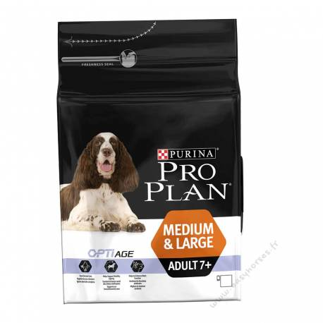 Proplan OptiAge Medium & Large Adult 7+ 3 kg