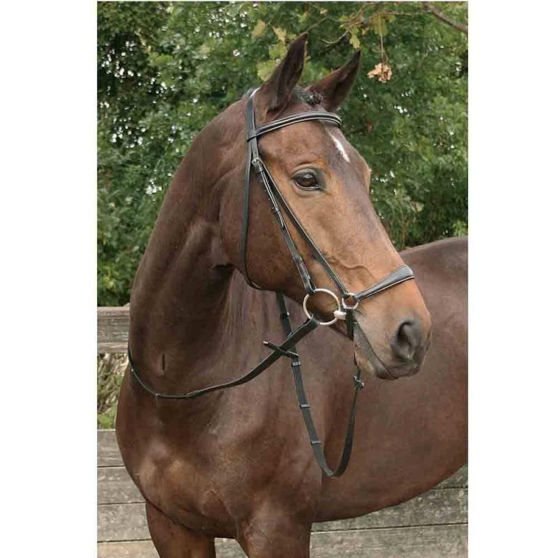 Harry/'s Horse étrier Courroie Crystal En Cuir Avec Strass Diverses Longueurs