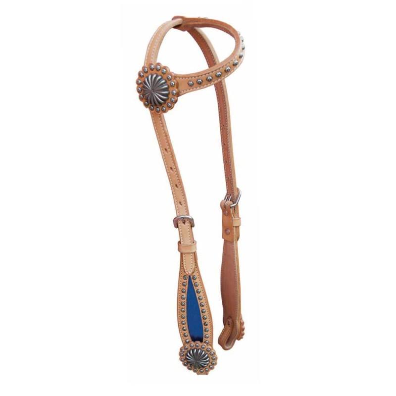 Bridon une oreille Pool's Color Lux Bleu