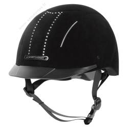 Harry's Horse Casque Eclipse Crystal Noir