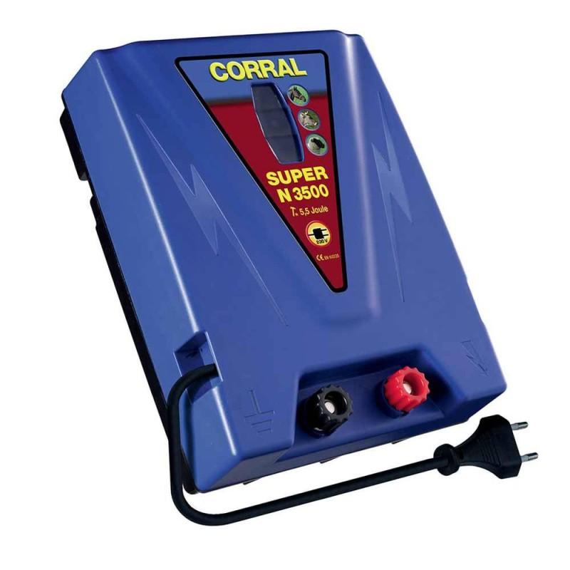 Electrificateur secteur Corral Super N 3500
