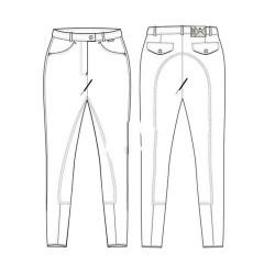 Pantalon HV Polo Lamare Alvarez