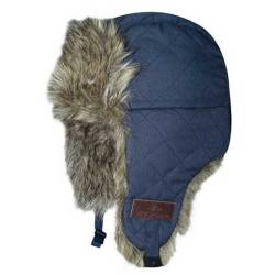 Bonnet HV Polo Quilted Fur