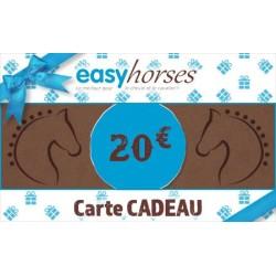 Carte cadeau Easyhorses - 20€